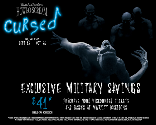 Other Offers Available: Busch Gardens Military Appreciation Days