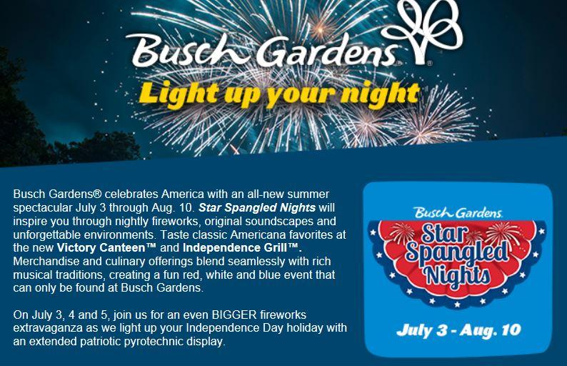 Busch Gardens Williamsburg Military Admission Garden Ftempo