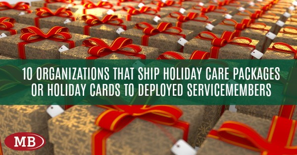 looking for places to donate holiday gift packages or holiday cards to troops deployed here are 10 organizations that offer holiday support