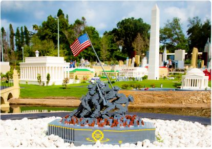 In thanks for your service to our country, LEGOLAND ® FLORIDA RESORT is offering you an exclusive Military Discount on tickets when you verify your Military Service! To claim your LEGOLAND ® FLORIDA RESORT Military Discount, just follow these 2 simple steps: 1.