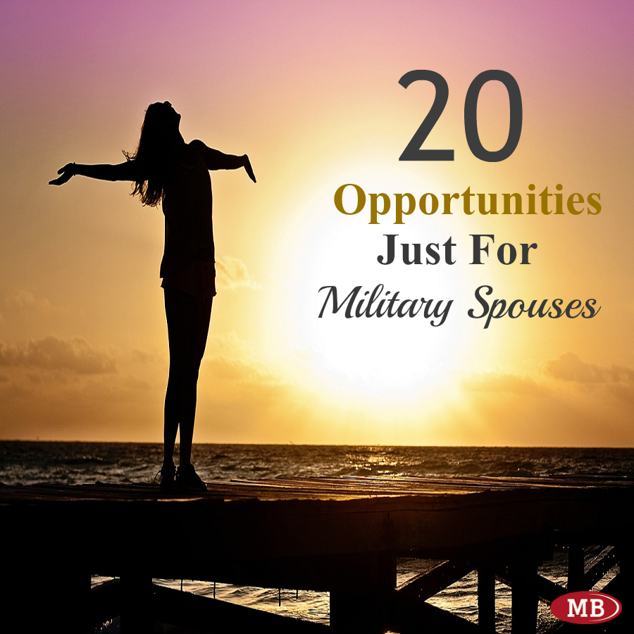 20 Opportunities Created Just For Military Spouses