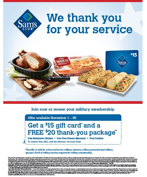Be sure to check out all the different membership options available at Sam's Club. The Plus membership will give you $10 off every $ you spend.