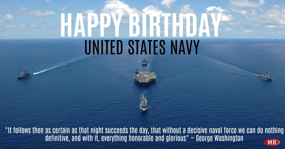 happy 243rd birthday united states navy october 13 1775 forged by