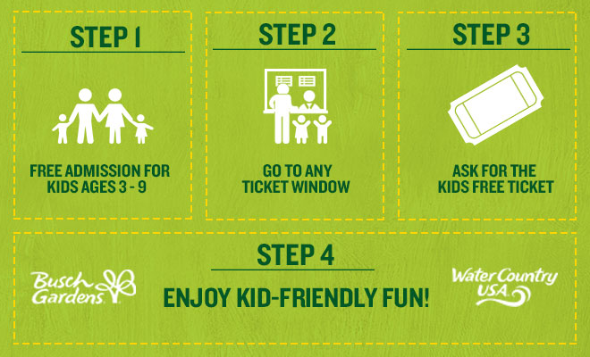 BACK-TO-SCHOOL OFFER FROM BUSCH GARDENS WILLIAMSBURG & WATER COUNTRY ...