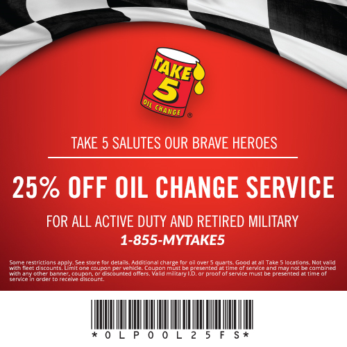Take 5 Oil Change Business Militarybridge