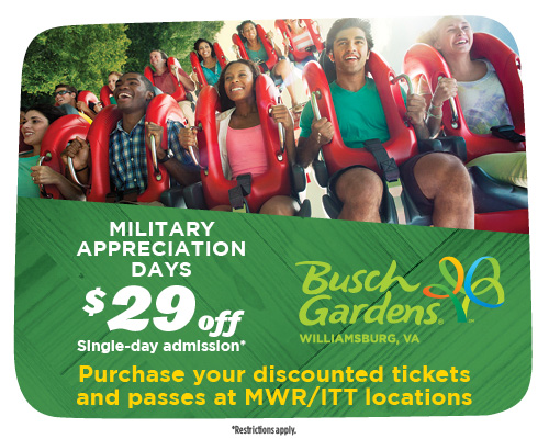 2014 Preschool Pass at Busch Gardens and Water Country Williamsburg ...