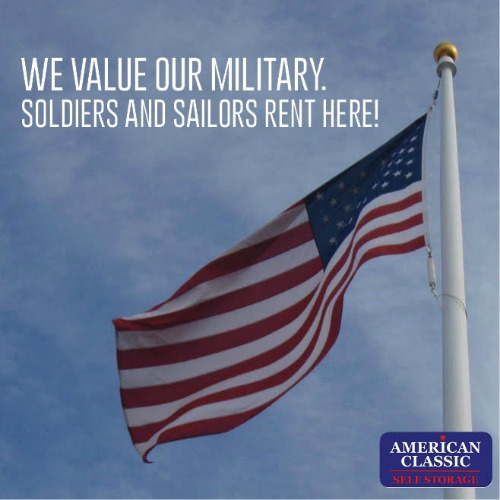 American classic self storage business militarybridge for American classic storage