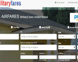 Looking for Military Discounts on Air Travel?  Check out MilitaryFares.com they Negotiate the Best Military Airfare Prices for the Military Community!