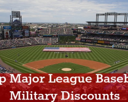 Military Discounts & Military Appreciation Games at Major League Baseball Games.....Time to grab the peanuts, hot dogs and cracker jacks