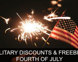 Top Military Discounts for Fourth of July 2018