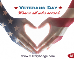 MilitaryBridge's Big List Of Veterans Day Discounts & Freebies 2016 (Free Meals, Entertainment, & Retail)