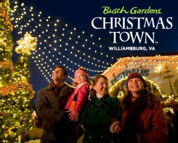 Busch Gardens Christmas Town Tickets.Just Announced Busch Gardens Williamsburg Special Offer On