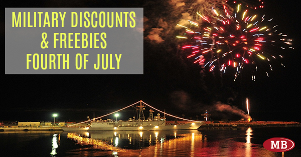Military Discounts and Freebies For Fourth of July a9ec19302