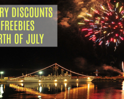 Military Discounts and Freebies For Fourth of July, 2017