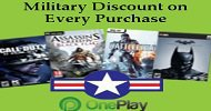 10% Military Discount at OnePlay